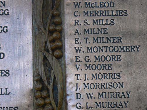 He was the husband of Jane Morris, of High St., Westcott, Bucks. A T. J. Morris is remembered on the Surrey Hills War Memorial, located in Surrey Gardens, Union Road, Surrey Hills, Victoria.