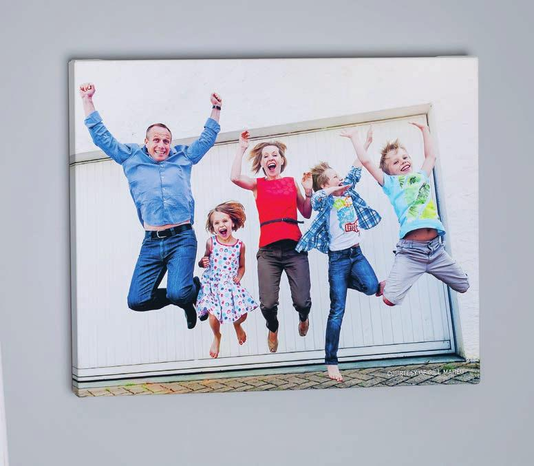 DISPLAYS / CANVASES / CANVAS WRAP OUR CANVAS WRAPS ARE PRINTED USING THE LATEST PROFESSIONAL INKJET PRINTERS.