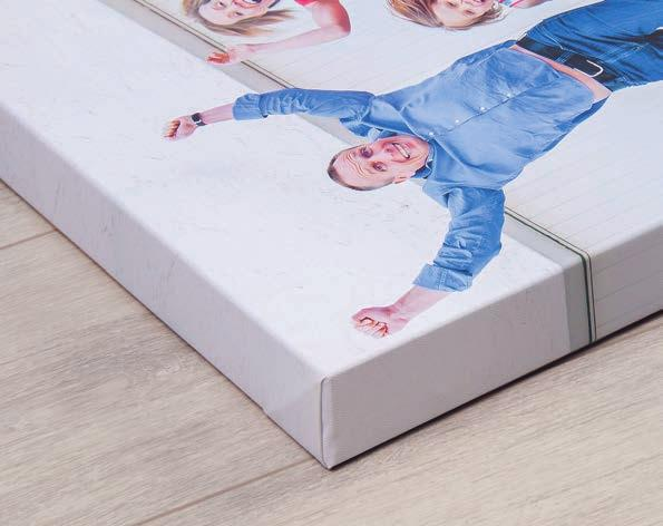 We have chosen the highest quality gallery canvas, which is made from 100% pure cotton.