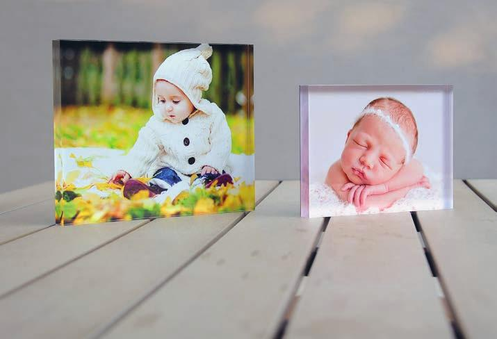 Metal Desk Displays are available in 5 sizes in portrait,