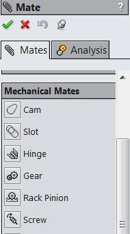 In Mechanical Mates