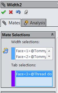 In the down arrow under width mate select Free.