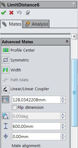 Inserting Slider 2 When slider 2 is brought in its orientation is wrong.