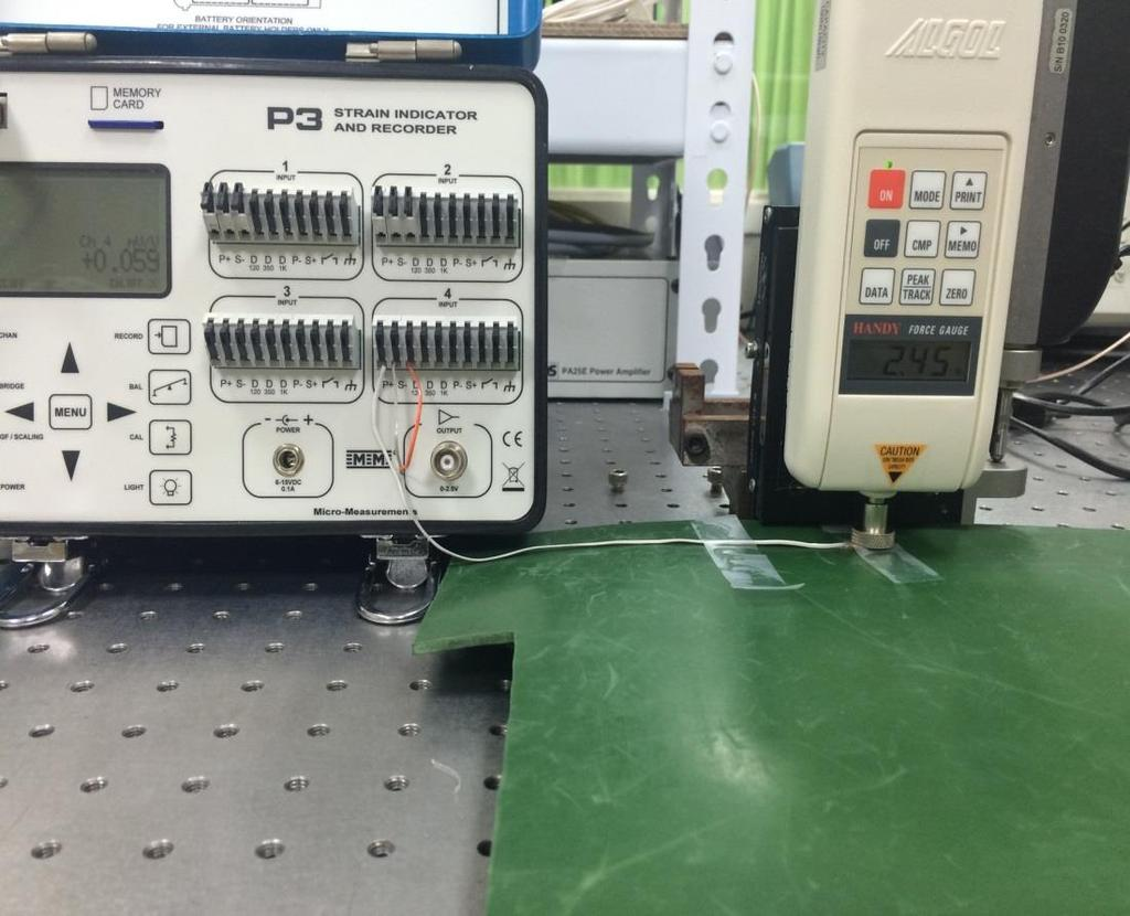 Hot plate Sensor Static Force With Soft layer readout model Z-axis