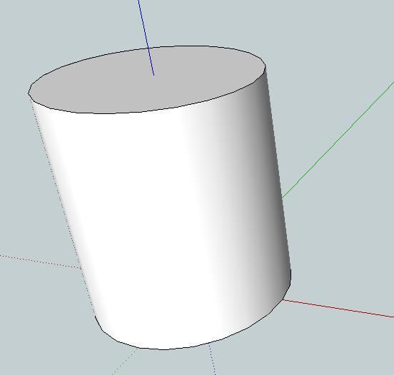 5. Now select the Push/Pull tool. This is for extruding to make shapes three-dimensional. 6.