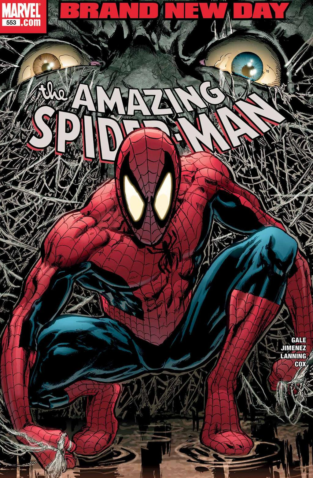 The Amazing Spider-Man #553 - Brand New