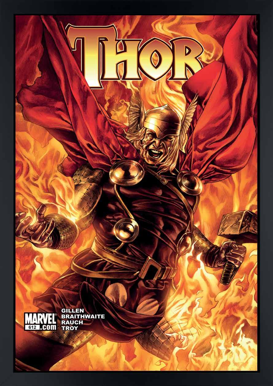 "Thor #612 Limited Edition Boxed Canvas of 95 Image Size 44"" x"