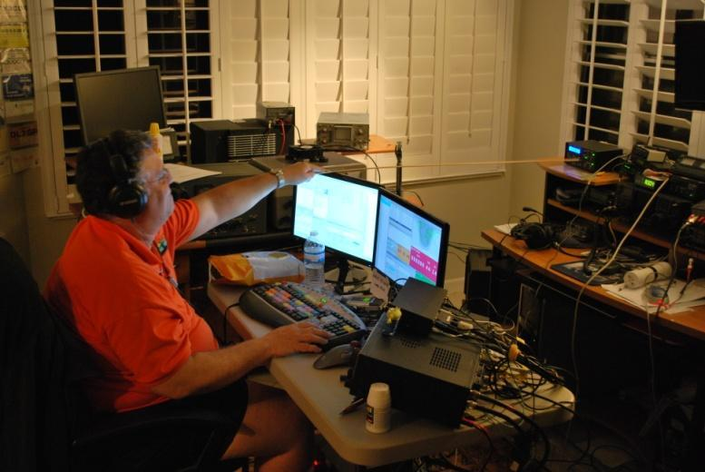Surprisingly, a total of only 302 contacts were made on 10 and 15 meters. For the second consecutive year, 2nd place went to Dave, K6LL operating from Arizona.