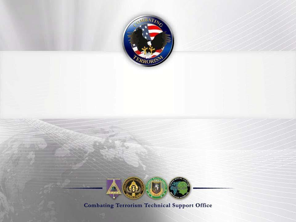 Interagency IED Defeat Research and Development Global EOD