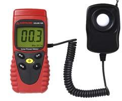 Amprobe Testers SOLAR POWER METER Optimize the placement of solar systems and verify window efficiency.