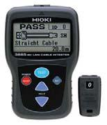 3 ft) resolution Direction Check: Up to 21 cables can be identified using the supplied 9690 terminator & optional 9690-01 to 9690-04 Display: LCD with backlight & beeper Switch: Select between meters