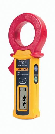 Fluke Leakage Clamp Meter Measure leakage current with 1 µa resolution, for monitoring of insulation erosion Measure to 60 A, for general installation needs Perform tests without powering down the