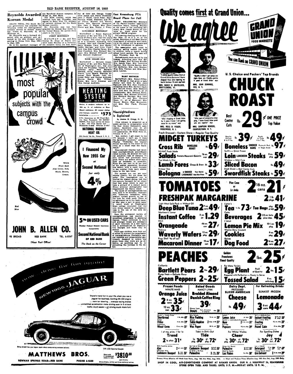Red Bank Register Tor All Department Cm Pdf Glove Compartment Wiring Diagram For 1953 Studebaker Champion And Commander Reynolds Awarded Korean Medal Colts Neckthe South Government Has It
