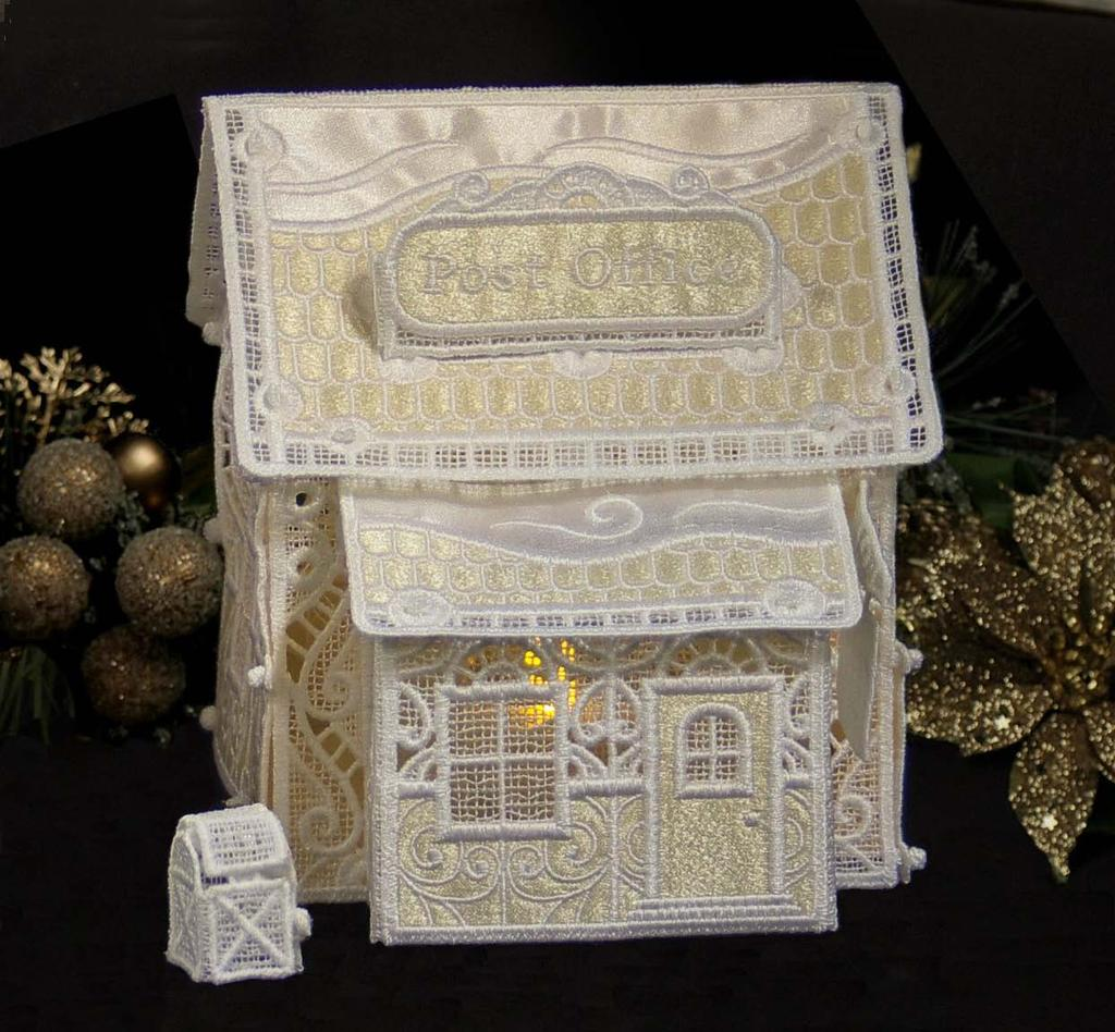 Christmas Village: Post Office & Mailbox - PDF