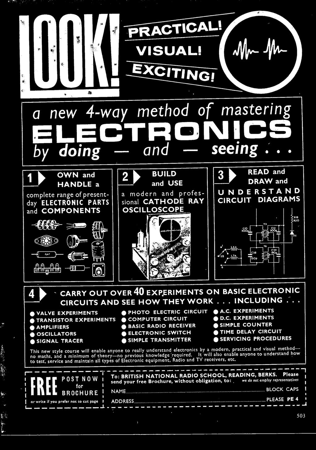 Practical Electroimip Three Shillings July 19b0 Vdurs To Commnnd Figure 12 Schematic Wiring Diagram Dynamotor Welder Uding Valve Experiments 0 Photo Elect