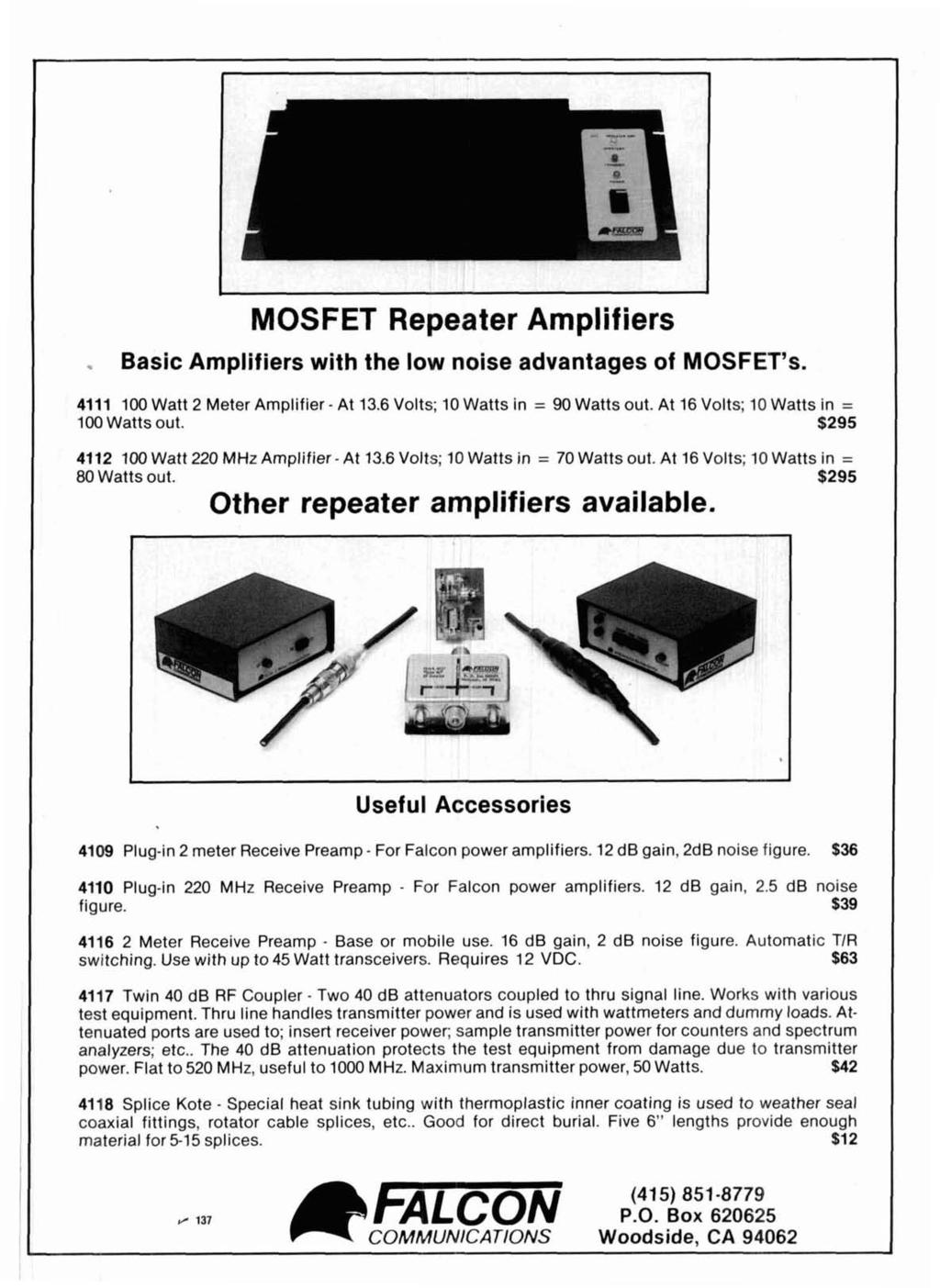 8 Yq J B T Pdf 4 6 2001 Lincoln Town Car Engine Pully Diagram Mosfet Repeater Amplifiers Basic With The Low Noise Advantages Of Mosfets 4111 100