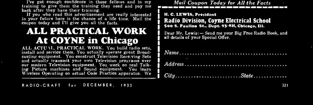 Radios livest magazine decetm ber 25 cents canada 30e editor f you who read this advertisement are really interested in your future here is the chance fandeluxe Images