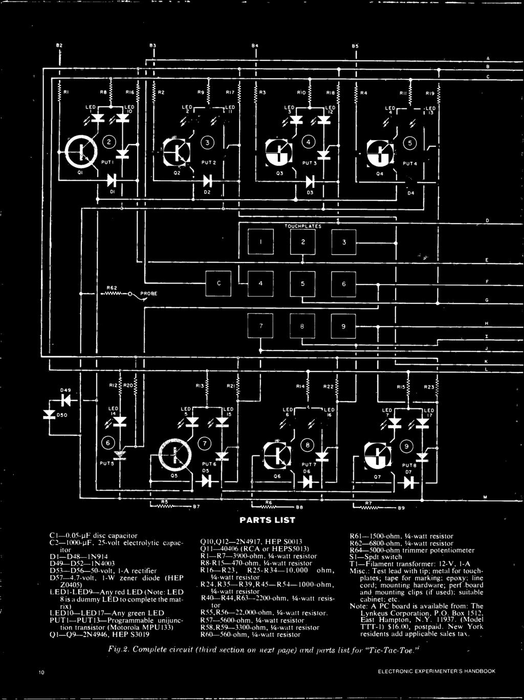 Handbdok Experimenters Electronic Light Activated Slave 800watt Softstart Triac Dimmer Circuit Diagram Tradeofic Mpu 133 Qi Q9 2n4946 Hep S3019 Qi0q12 2n4917