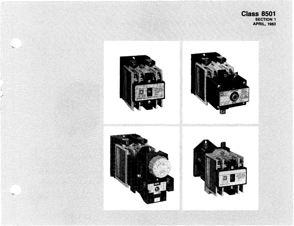 Control Systems Relays Squared Company Class Pdf Wiring Permanent Magnet Latching Contactors For Nonmotor And Lighting Fle Products Catalog 5 Ndustrial Contents Ty Pe Description Pages