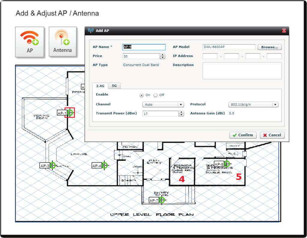 Introducing The D Link Wi Fi Planner Pro Pdf Cloudpath Wireless Network Diagram Flexibility In Aps And Antennas Further To Ap Placement Advisory Better Address