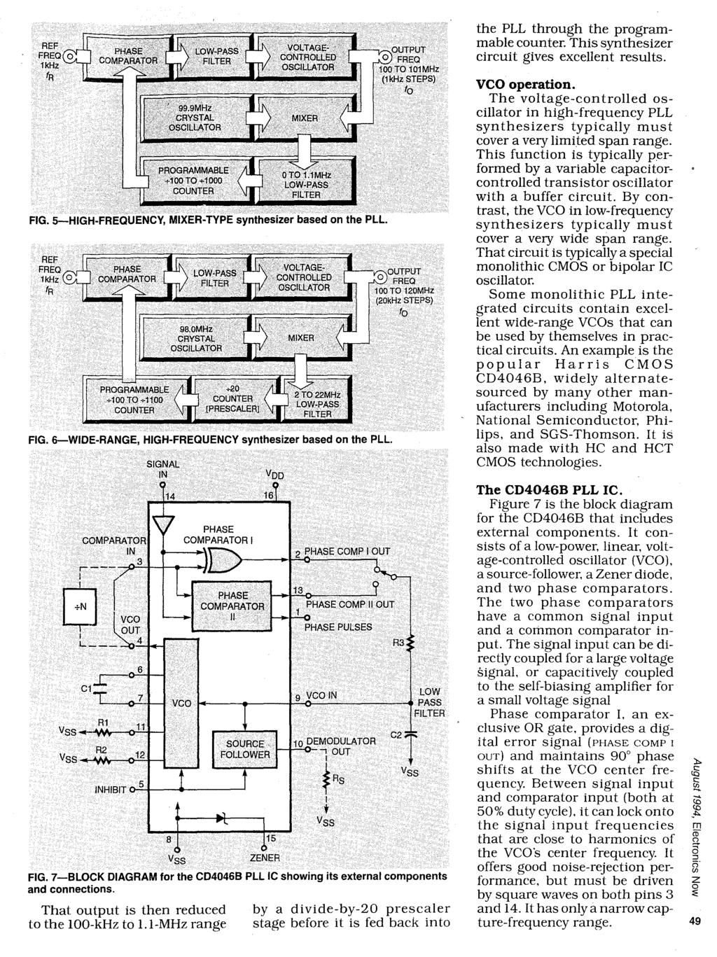 Learn About Phase Locked Loops Pll And Design Communications Oscillator Circuit The Frequency Variable Crystal Wide Range High Synthesizer Based On