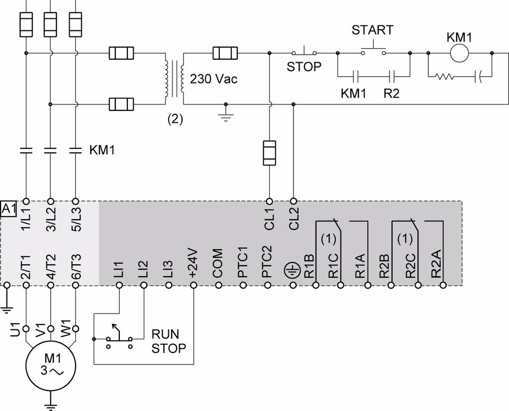 2008 Altistart 22 Soft Start Stop Unit User Manual 09 2009 Wiring Permanent Magnet Latching Contactors For Nonmotor And Lighting Annex 1 Ul508 Schematics Ats22 Q Or S6 230 V 2