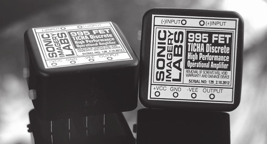 Digital Gain Control with Sonic Imagery Labs 312A Discrete