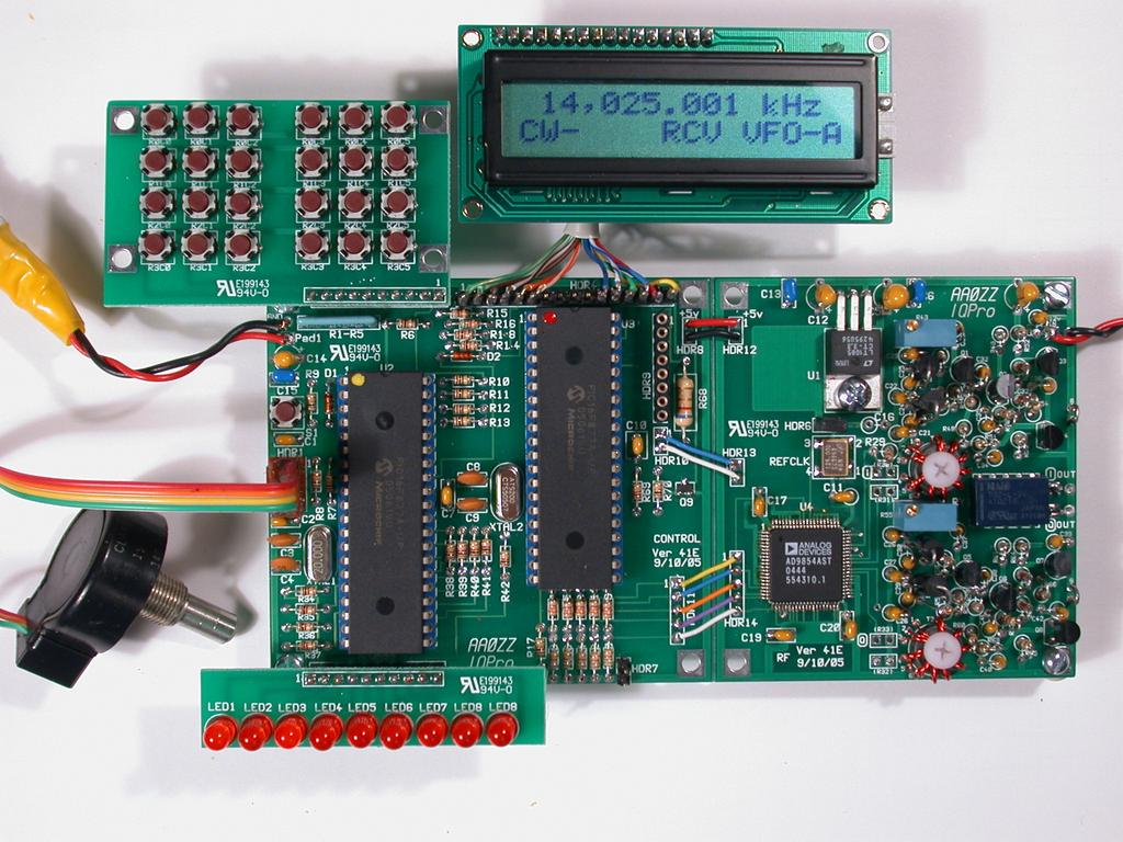 Aazz Iqpro A High Performance Dual Output Vfo Using The Ad9854 Far Circuits Bitx20 Circuit Board Fabrication Dds By