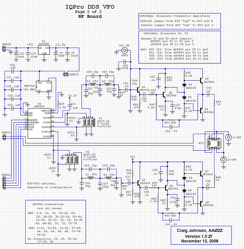 Aazz Iqpro A High Performance Dual Output Vfo Using The Ad9854 Of Usb Wires Color Code Besides Ad9850 Module Dds Schematic Diagram Figure 24 Page 2 Aa0zz