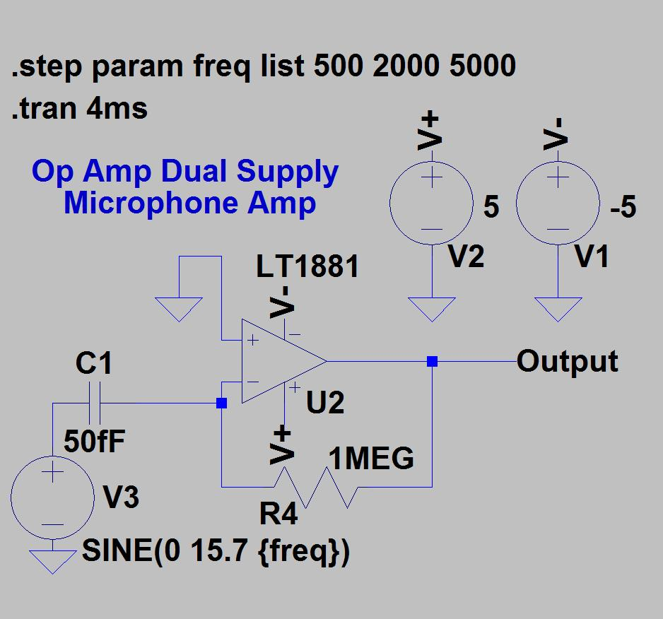 Single Supply Op Amp Circuits Dr Lynn Fuller Webpage Pdf 741 Ic Operational Amplifier Integrated Circuit 27 Dual Dc To Voltage Page