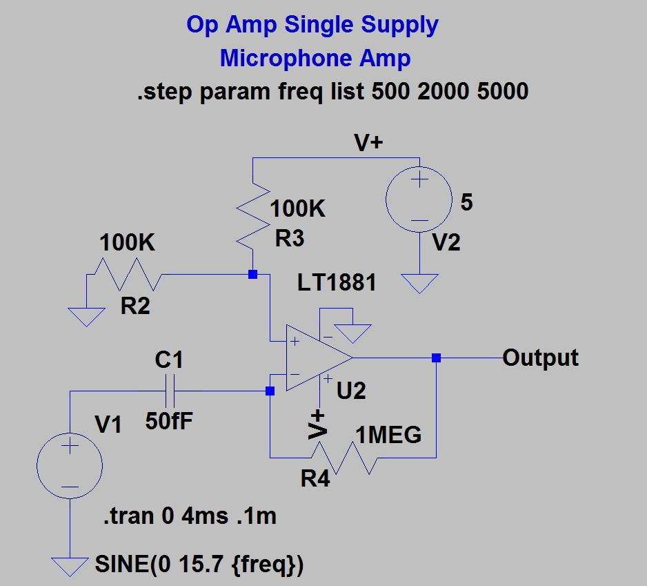Single Supply Op Amp Circuits Dr Lynn Fuller Webpage Pdf Singlesupply Instrumentation Amplifier 29 Microphone Dc To Voltage Page