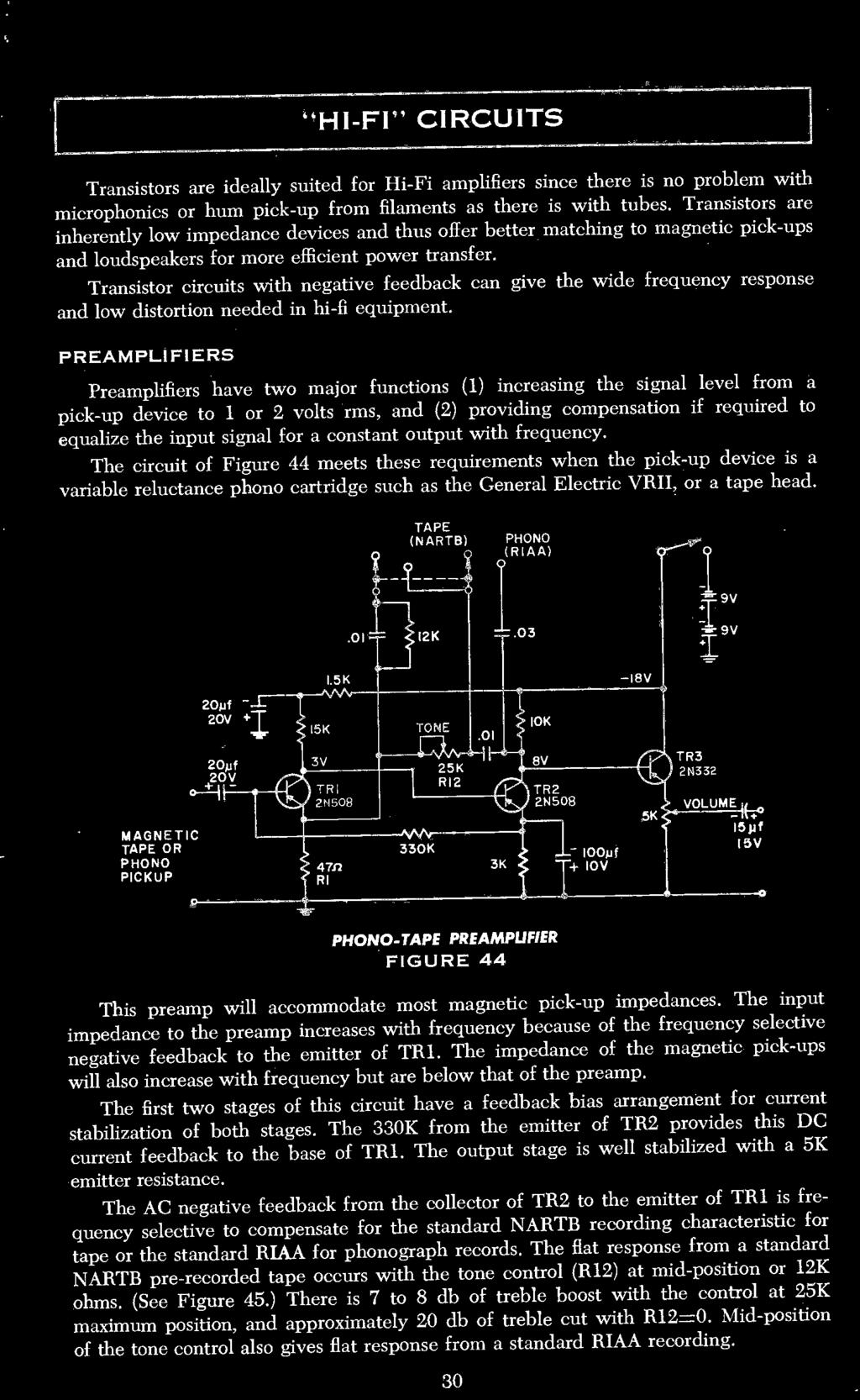 Contents Transistor Construction Techniques 8 Major Parameters 11 Bistable Circuit Diagram Composed Of 555 Basiccircuit Circuits With Negative Feedback Can Give The Wide Frequency Response And Low Distortion Needed In