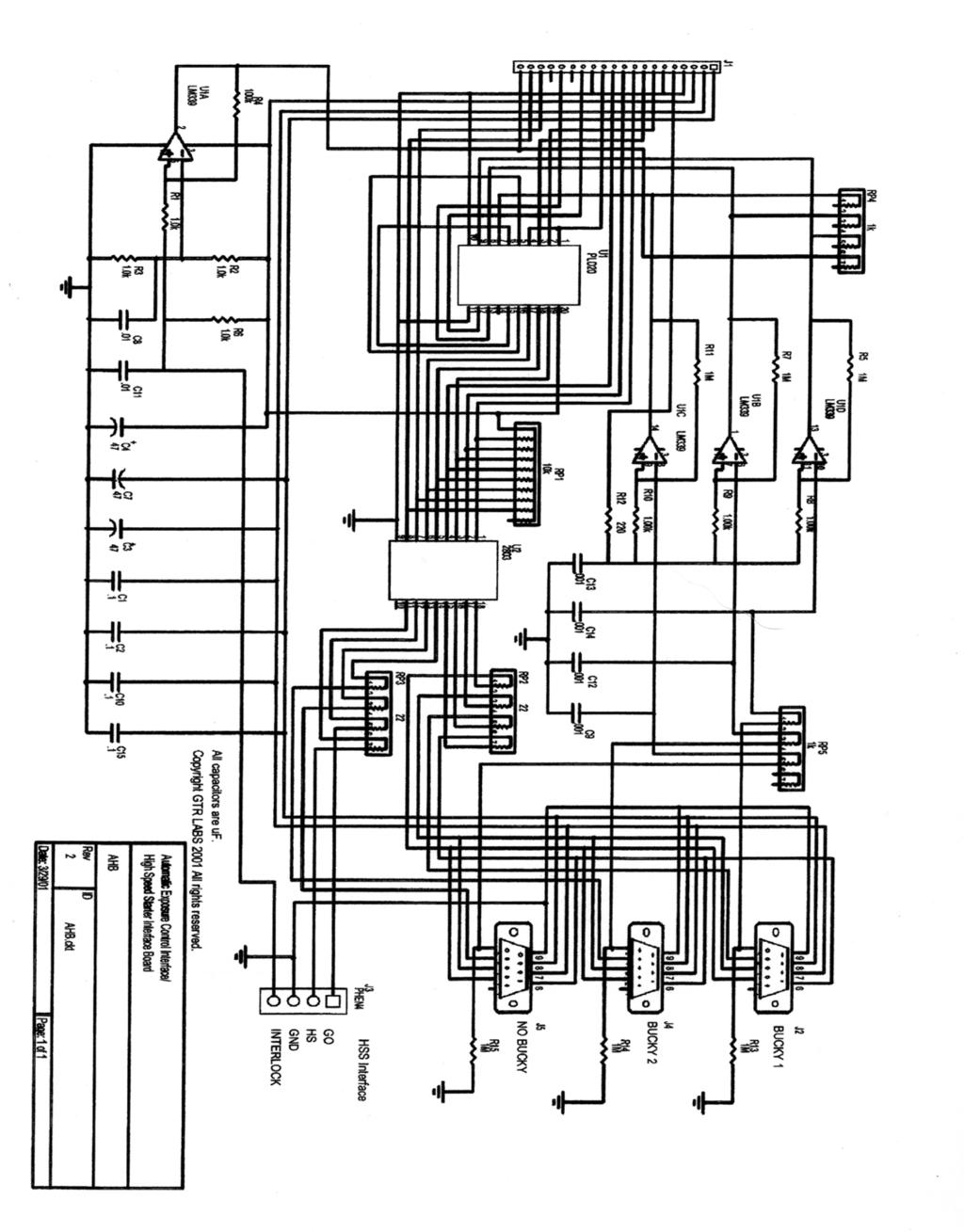 Patriarch High Frequency X Ray Generator Service Manual Models P200 Wiring Diagram 56