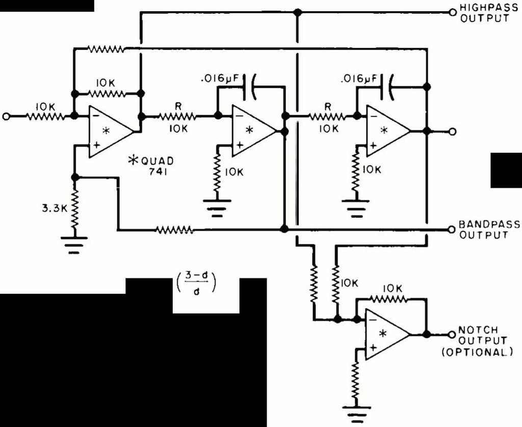 F Reouency Selective Filters Using Op Amps Makes Filter Design Easy Low Pass Integrator Circuit Amp 741 Circuits Gallery 33k X 30 1 L