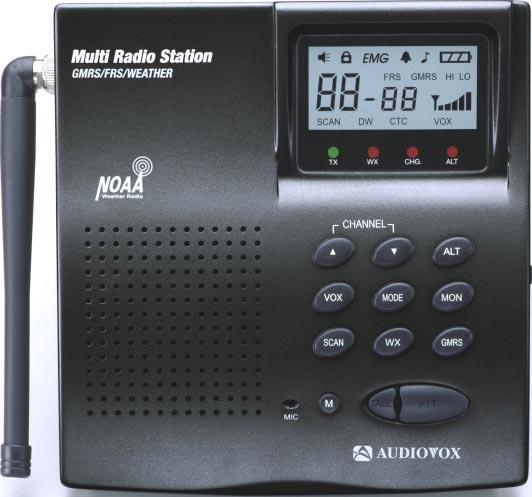GMRS/Weather Model: GMRS-2000 General Mobile Radio Service Base Station
