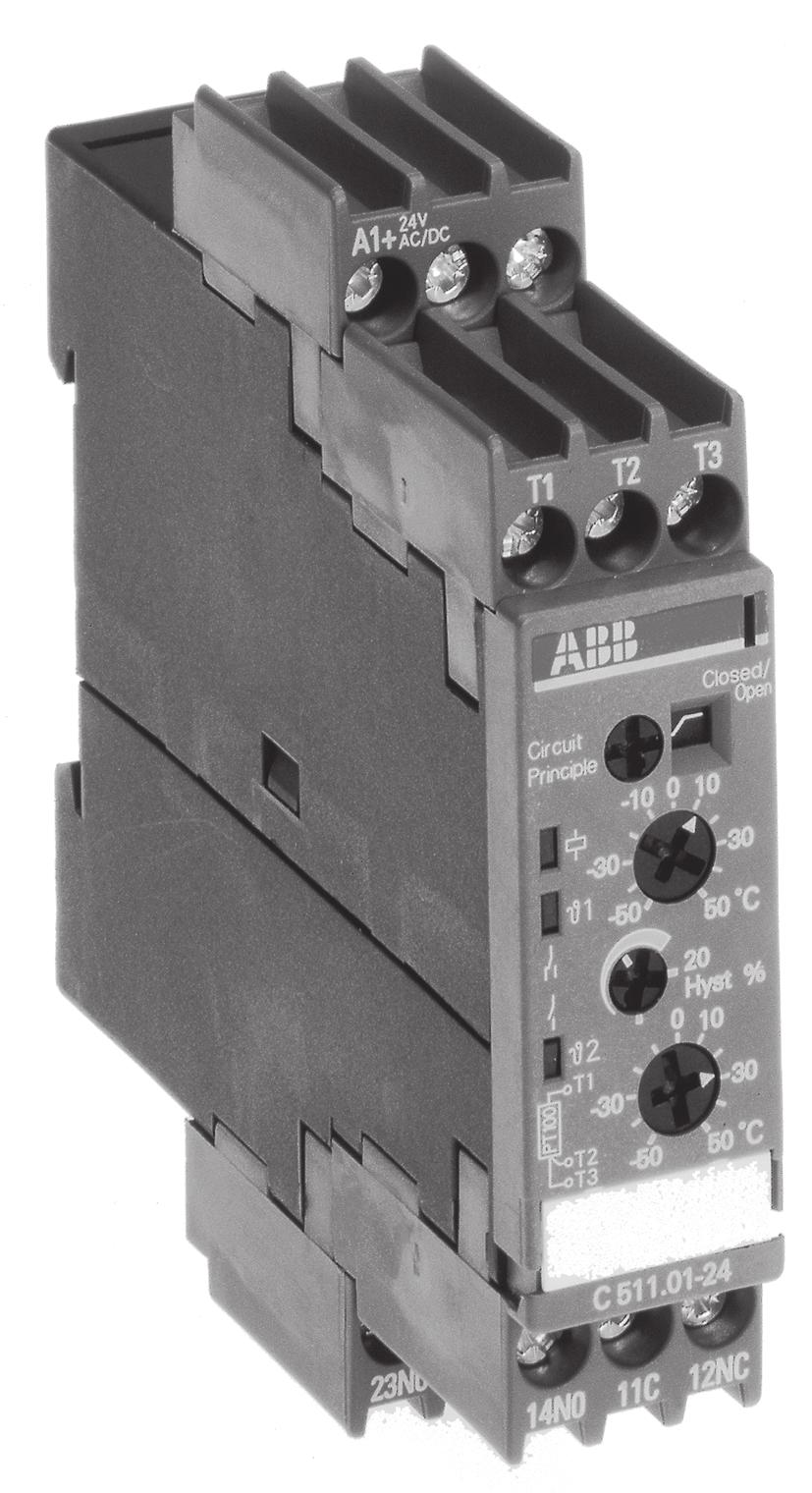 Electronic Measuring And Monitoring Relays Cm Range Pdf 24v05a Regulated Power Supply Circuit Powersupplycircuit C511 2 Threshold Value With Two Values Additional Settable For Second
