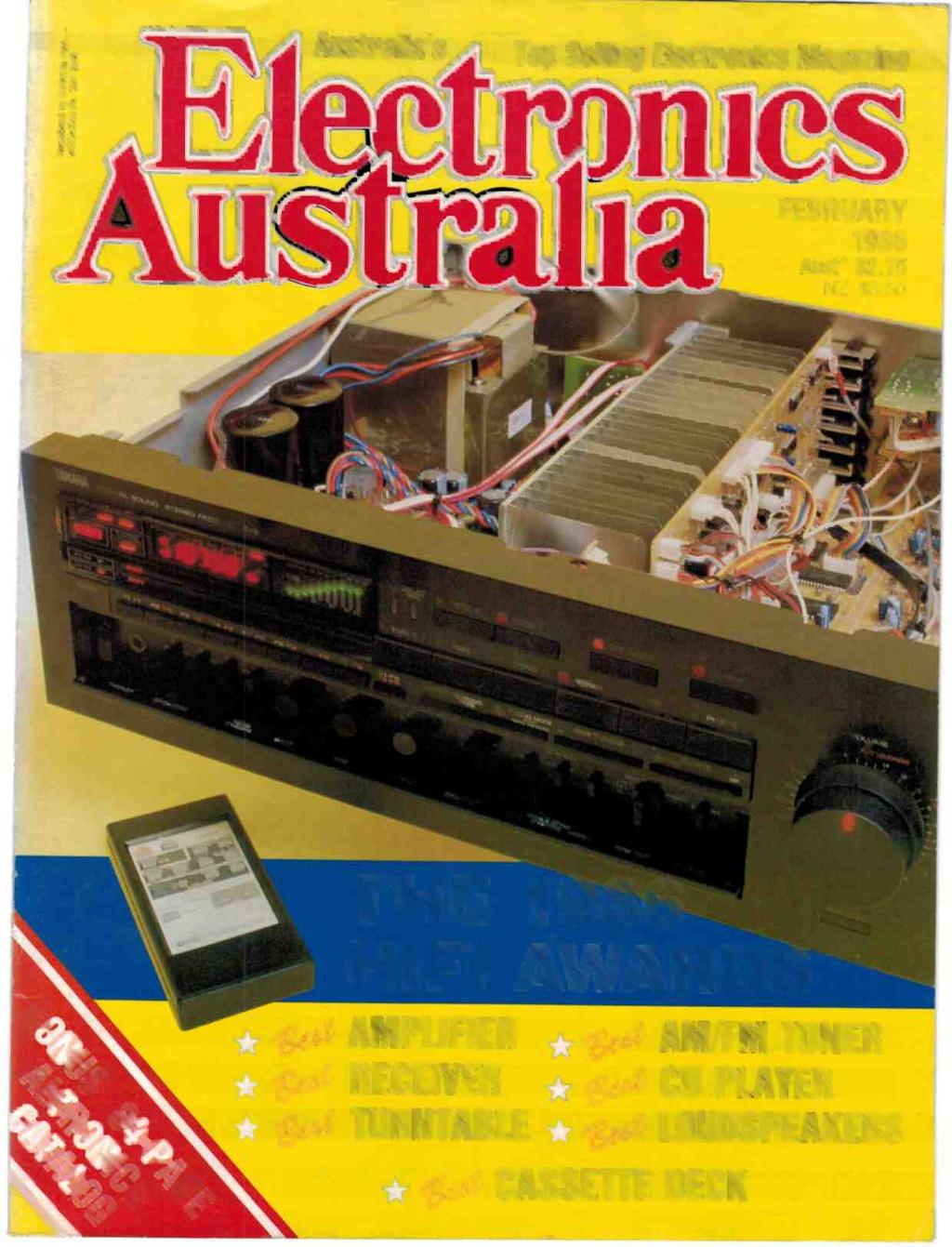 Hifi Awards 9at Amplifier The 1t Am Fm Tuner 90 Cd Player Lehit 70w Australias Top Selling Electronics Magazine I