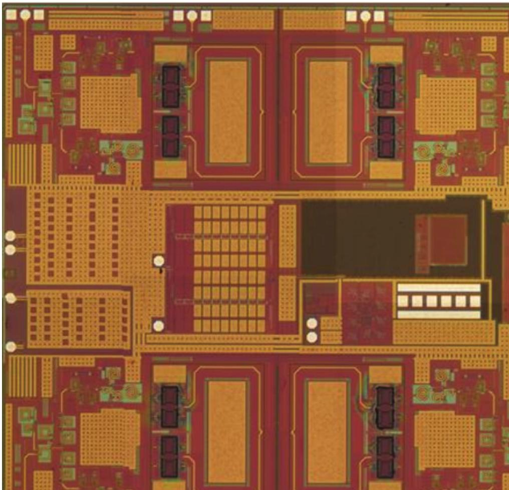 Si Sige Bicmos Microsystems For Microwave And Millimeter Wave Adf7242 Low Power Transceiver Circuit Design Page 28 Quad Chip Ic Rfmems Spdts Size 4 X 385