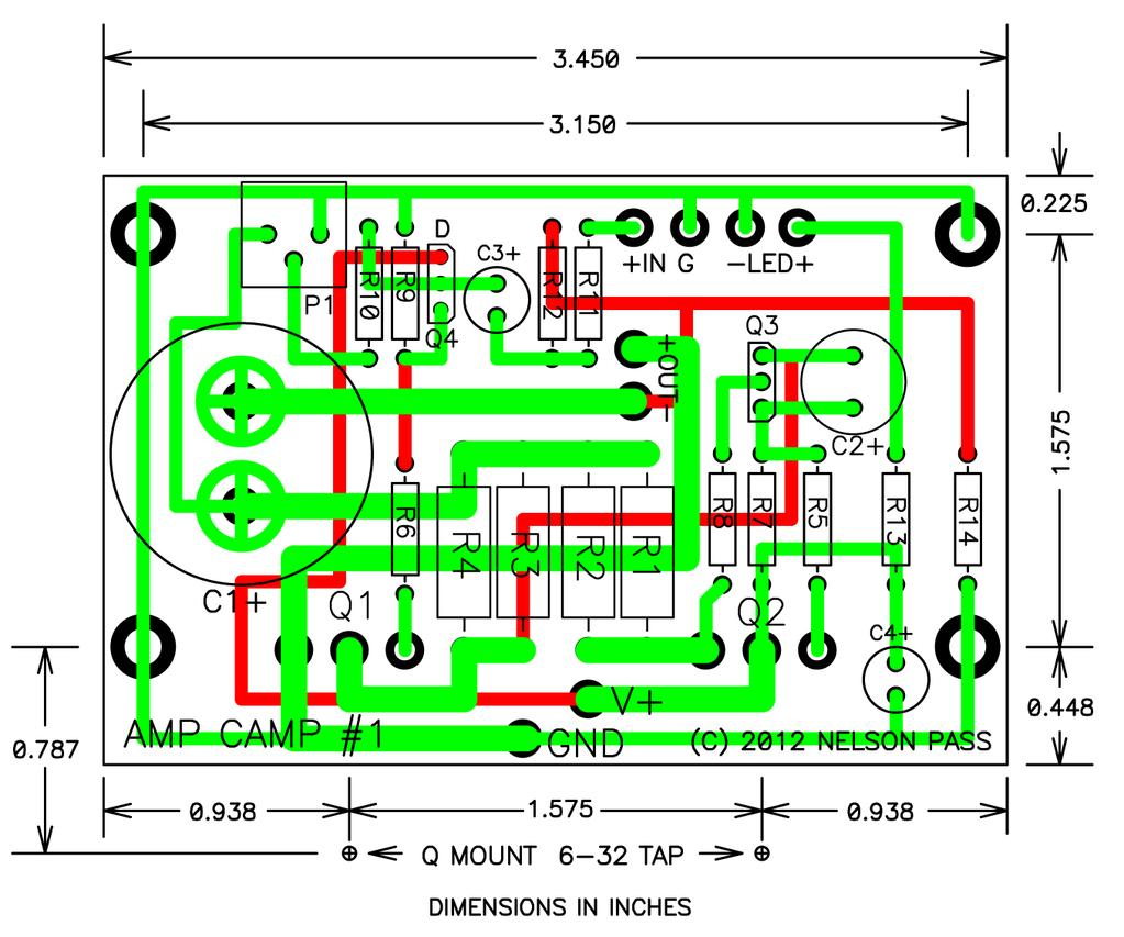 Amp Camp 1 Introduction Requirements And Constraints By 400w Audio Amplifier Schema Layout Here Is The Distortion Vs Frequency Taken At Watt Construction I Designed Following