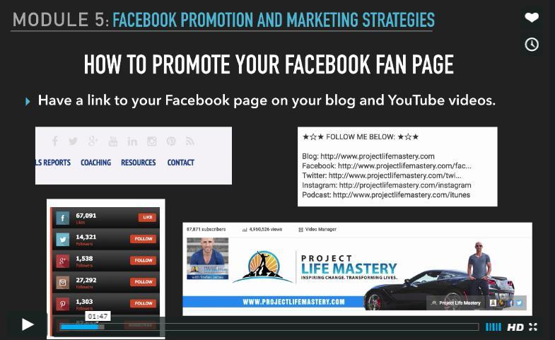Let us talk a little bit about how to promote your Facebook fan page.
