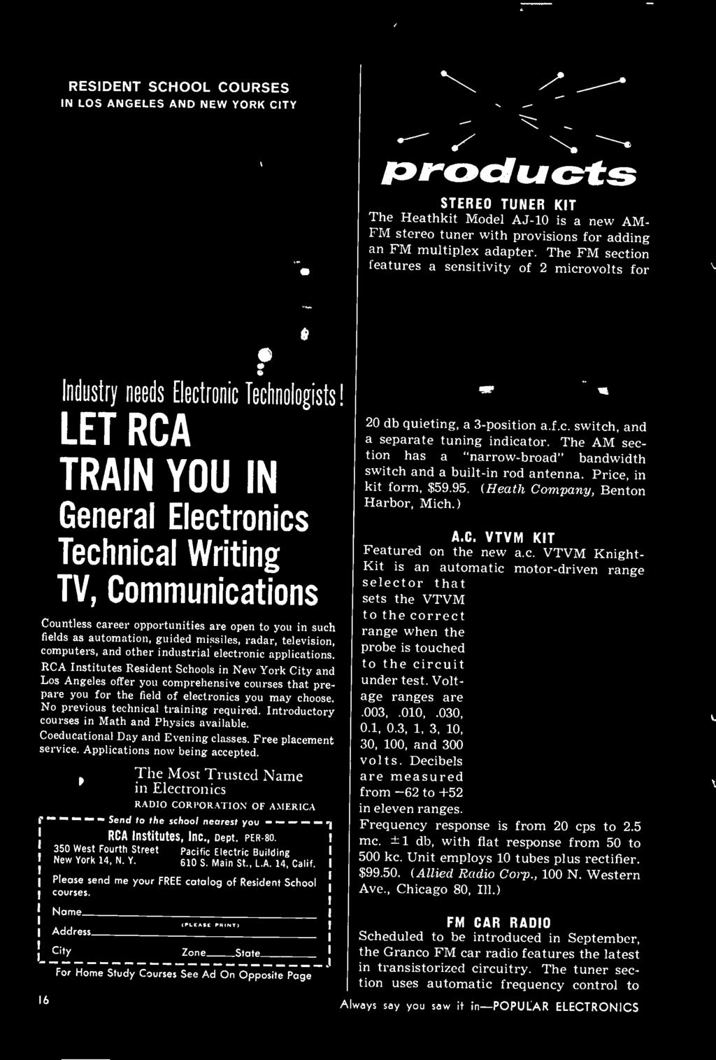 The Most Trusted Name In Electronics RADIO CORPORATION OF AMERICA