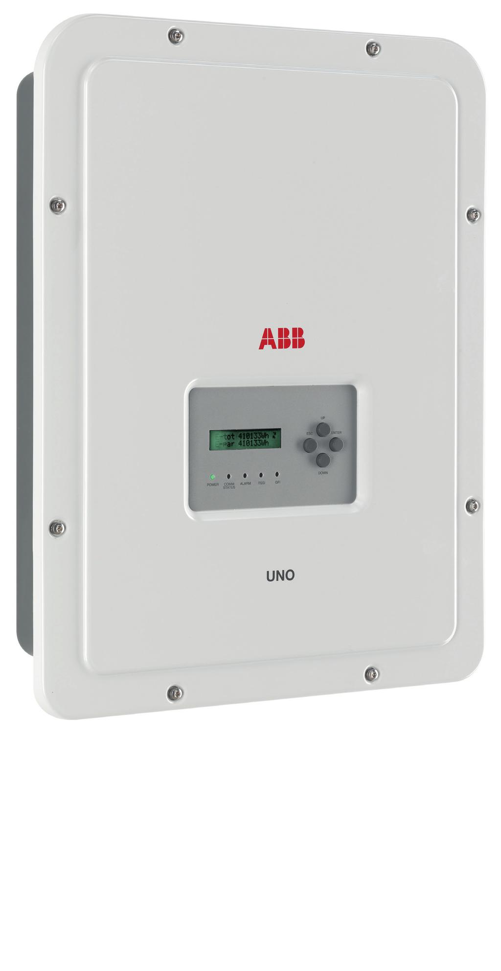 Abb Solar Inverters Product Manual Uno Dm 12 20 33 40 46 50 Under Current Relay 1