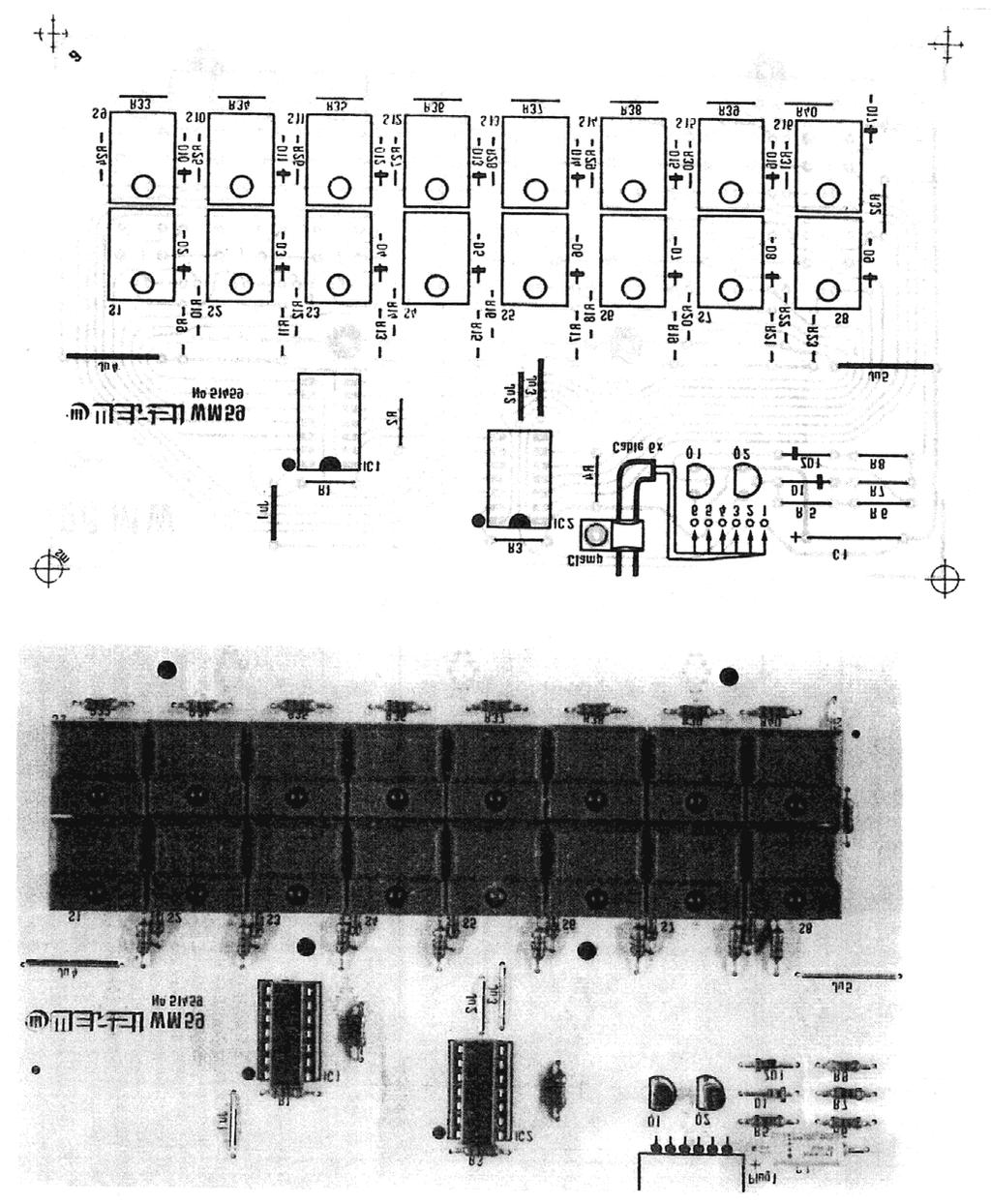 Assembly Manual Technical Data Wersimatic Cx 1 Pdf Music View Topic The Vco 555 As Well On Thomas Henry Schematic Figure 45 Pc Board Wm 59 Foil Pattern