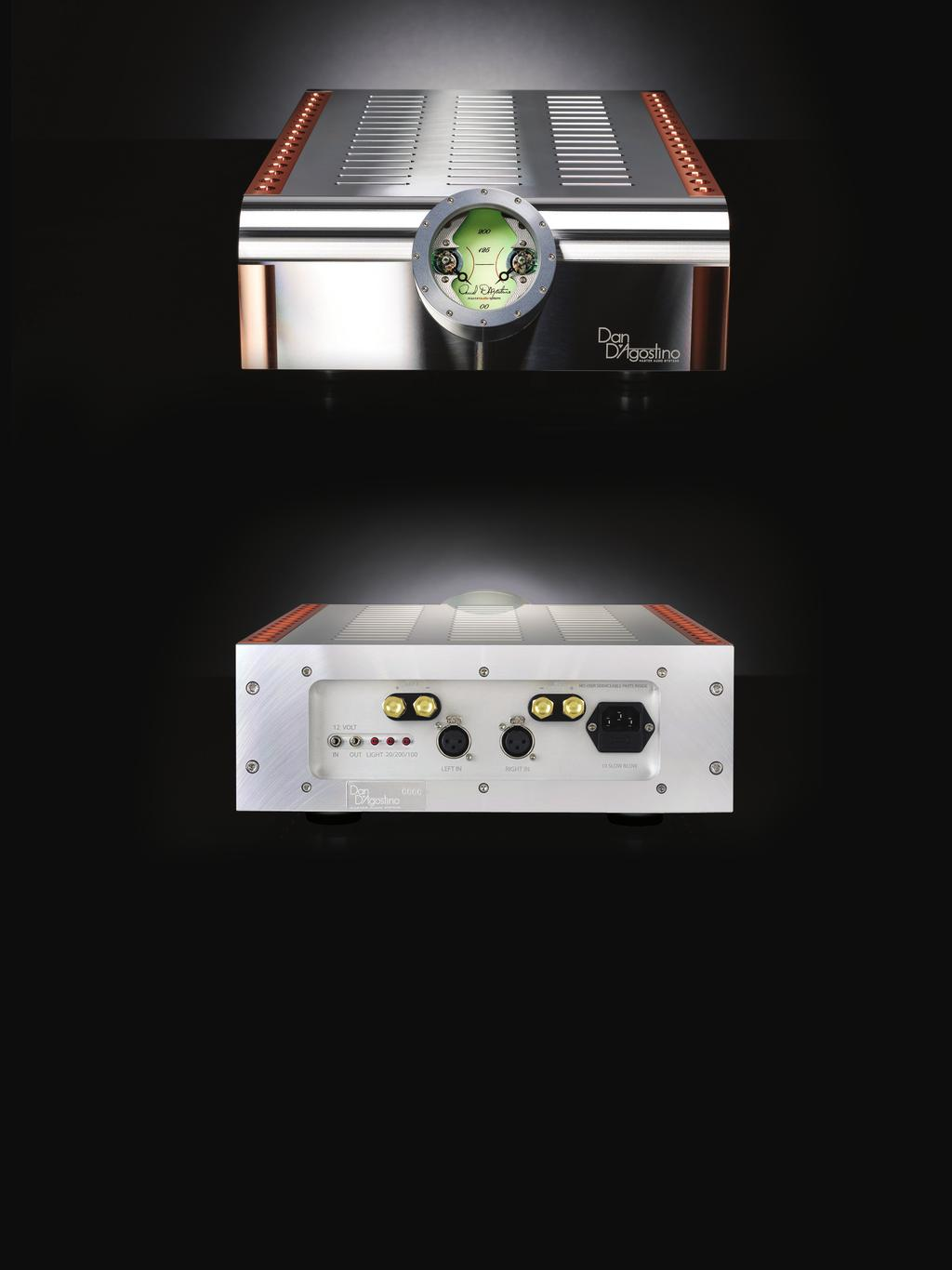 Momentum Stereo Amplifier Owner S Manual Pdf Audio Power Meter L R 4 2 Front Panel