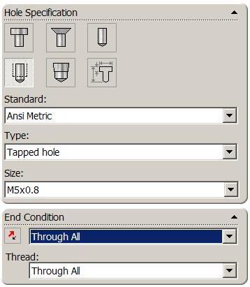 Renaming a feature Select the feature in the Feature Manager Tree. Press F2. The feature name will be highlighted with a flashing cursor on the right hand side. Type the name base to replace it.