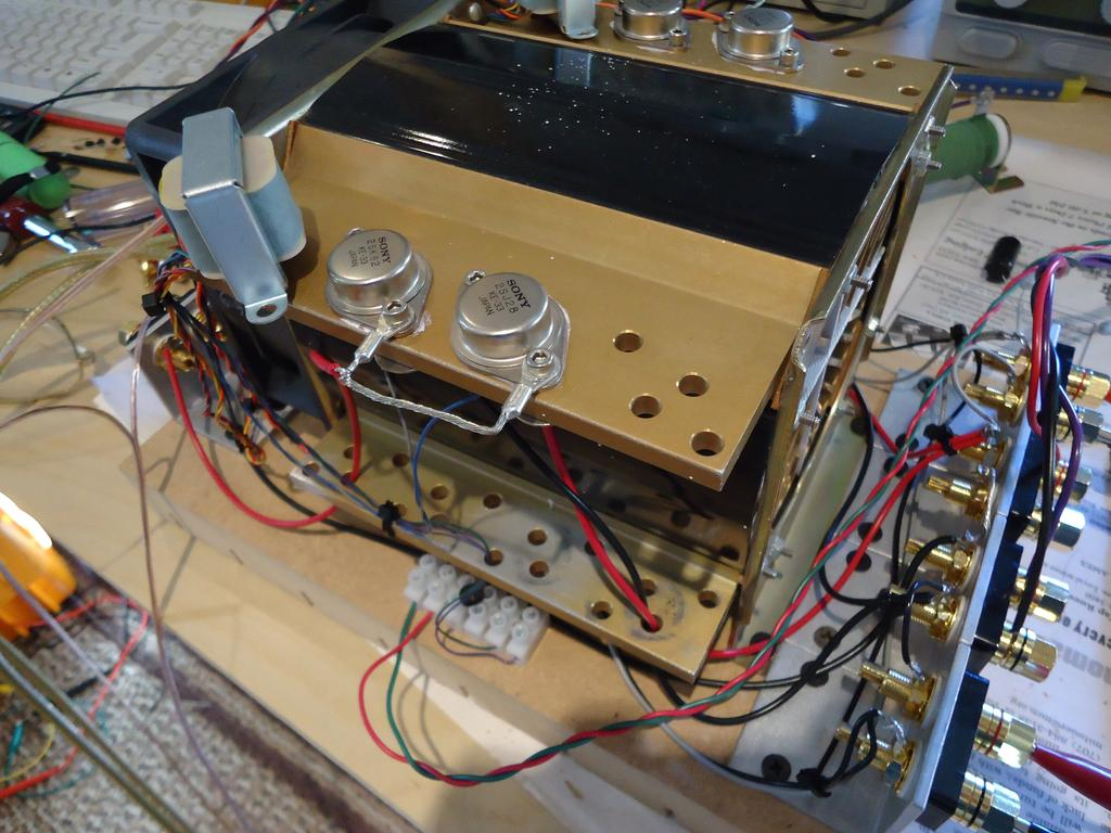 Part 1 Common Source Mode Transformer Coupled Pdf Pass Labs Aleph5 Classa Diy Amplifier Schematic Pcb And Heres A Closeup It Sounded Quite Good Although Small Amount Of Noise