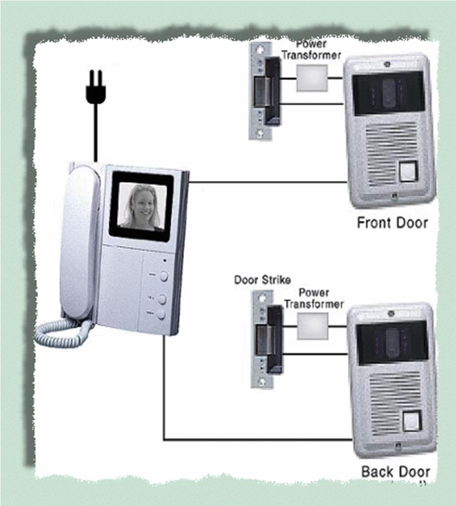Advanced Electrical Services Chapter 3 Extra Low Voltage System Simple Door Phone Intercom Circuit Schematic Duplex Circuits Wiring Of A