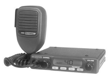INSTRUCTION MANUAL TX3200 UHF