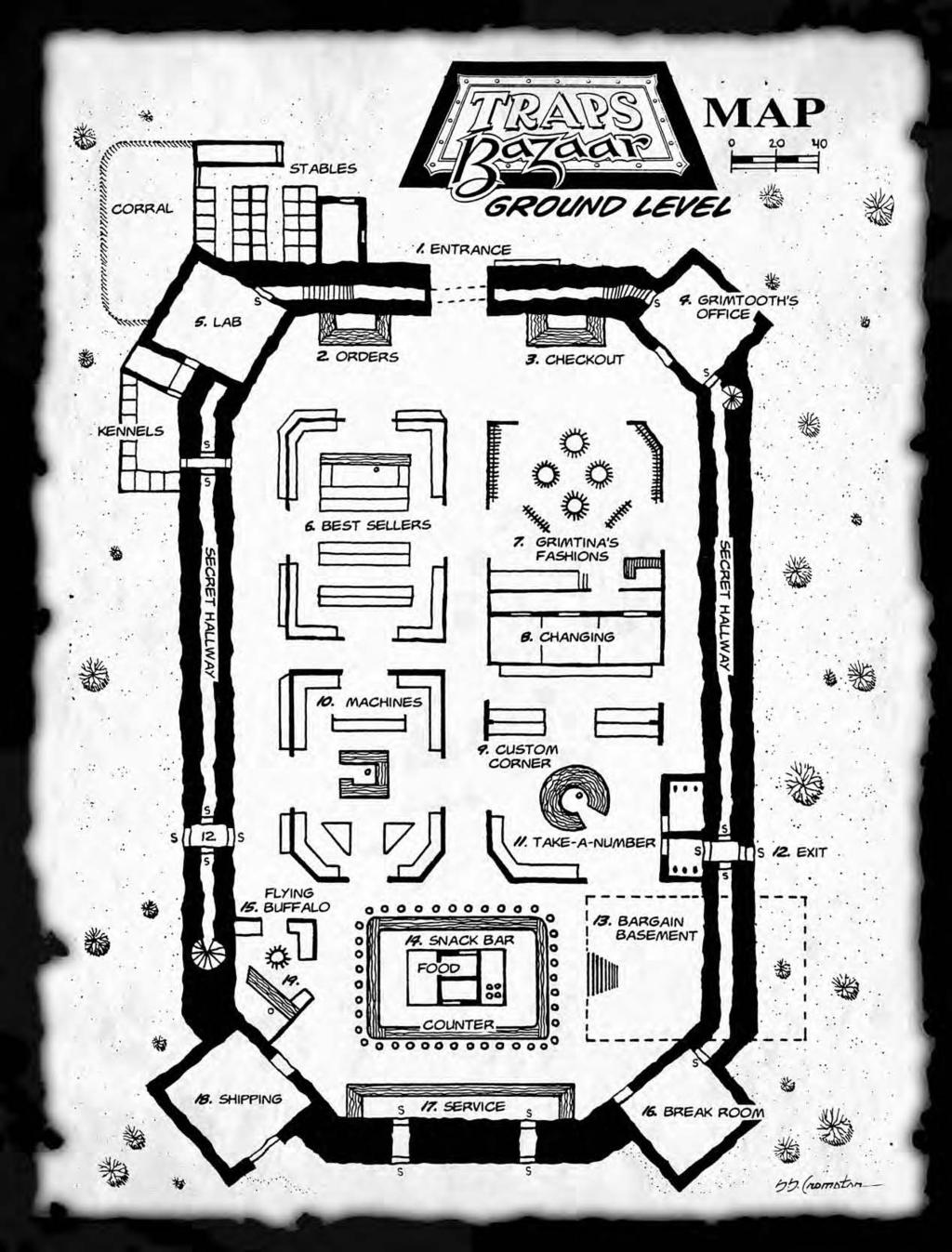 Necromancer Games Third Edition Rules First Feel Created Electronic Brick Of Touch Button Switch Is Fingersized Which Can Be Please Take Your Purchases Home Before You Start Pushing Buttons Or Pulling Levers Handy Directions Are Provided In Archaic Runic On The Inside Each