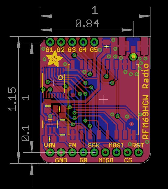 Adafruit RFM69HCW and RFM9X LoRa Packet Radio Breakouts - PDF